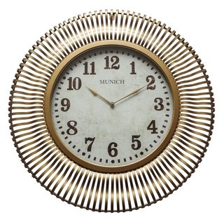 Yosemite Home Décor Munich Wall Clock - N/A (2 options available)