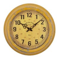 Yosemite Home Décor Café De Paris Wall Clock