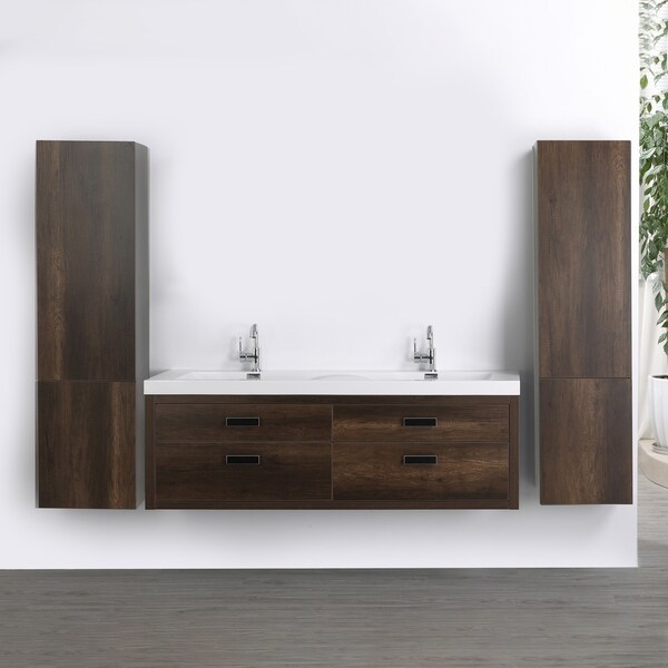 "63"" Streamline K1820-098-63-552S Double Floating Vanity"