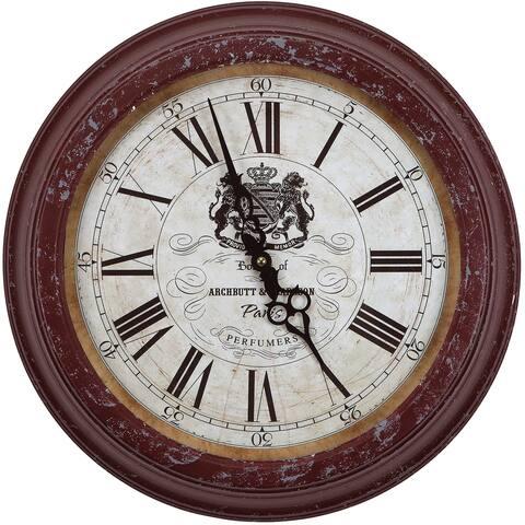 Yosemite Home Decor Archbutt Perfumers Wall Clock