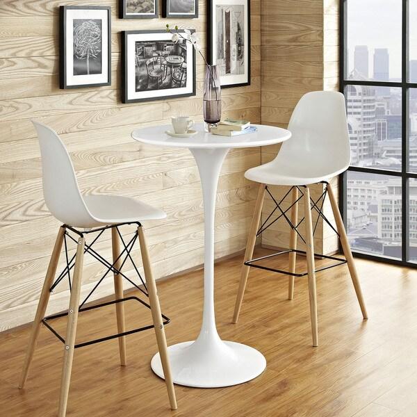 shop carson carrington kirkkonummi 28inch white bar table