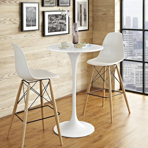 Carson Carrington Kirkkonummi 28-inch White Bar Table