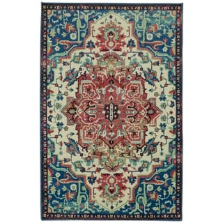Gracewood Hollow Pirandello Distressed Traditional Area Rug