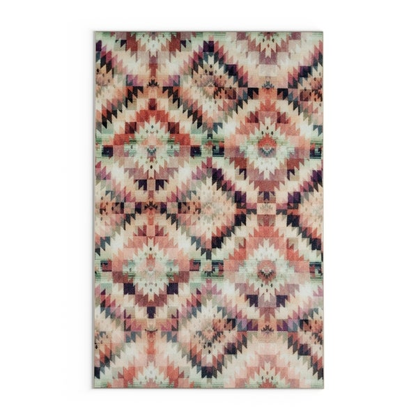 Carson Carrington Nakskov Diamond Mirage Geometric Area Rug
