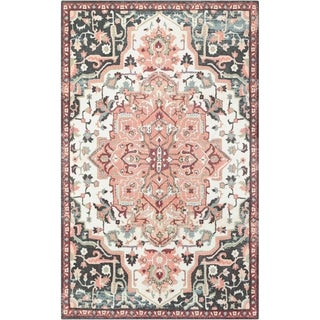 Gracewood Hollow Pirandello Traditional Distressed Area Rug - 5' x 8'