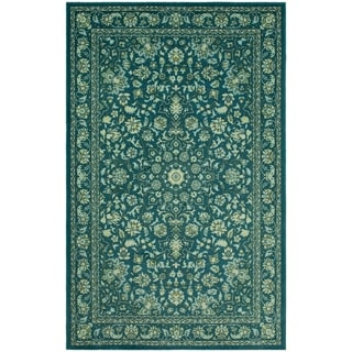 Gracewood Hollow Profeta Purple Traditional Floral Area Rug