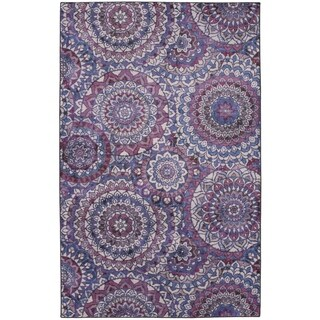 The Curated Nomad Dehiwala Florence Medallion Area Rug - 8' x 10'