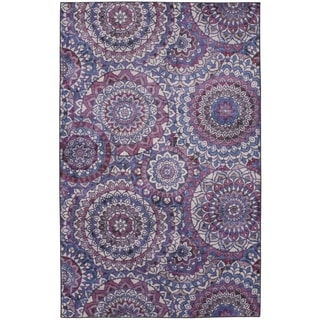 The Curated Nomad Dehiwala Medallion Area Rug - 5' x 8'
