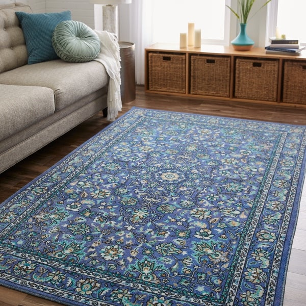 Gracewood Hollow Profeta Traditional Floral Area Rug - 10' x 14'