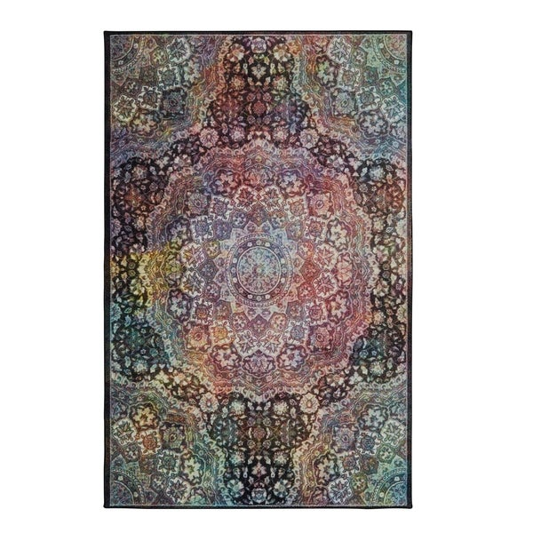 The Curated Nomad Sukhanand Cosmic Area Rug