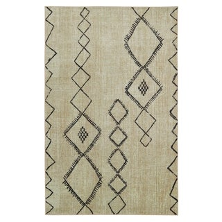 Carson Carrington Blindheim Diamond Area Rug - 5 x 8 (5 x 8 - Tan/Charcoal)