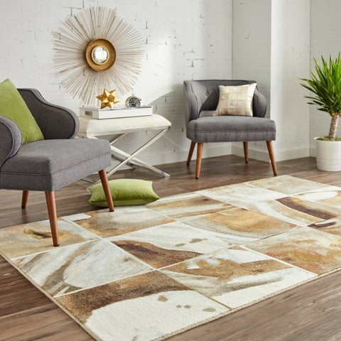 Carson Carrington Lidingo Marble Tile Area Rug - 5' x 8'
