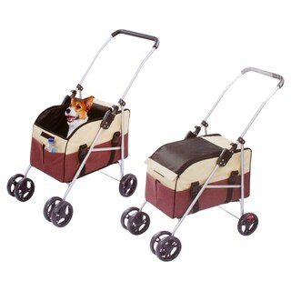 3 in 1 Pet Dog Stroller Carrier and Car Booster / Seat
