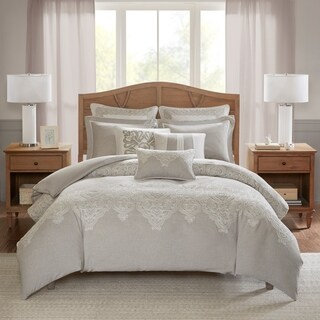 Madison Park Signature Barely There Natural Comforter Set
