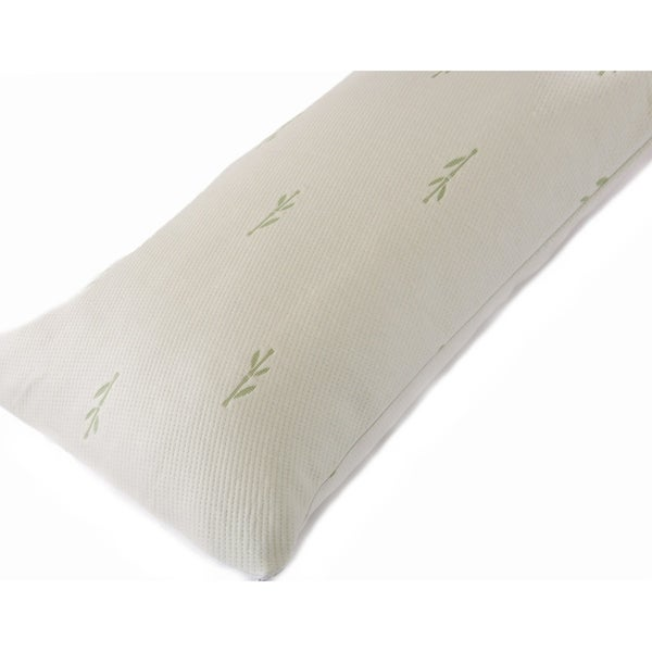 Shop Premium Bamboo Anti Microbial Zippered Body Pillow