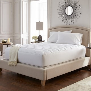 Sealy Moisture Wicking and Stain Release Mattress Pad (Set of 2) - White