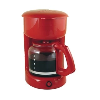 Red 12 Cups Electric Tea Coffee Maker