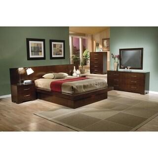 Jessica Dark Cappuccino 4-piece Bedroom Set