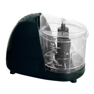 Black Compact Food Chopper - Small Electric Food Chopper