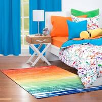 Crayola Color Drip Area Rug (3'6 x 5'6)
