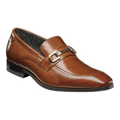 Men's Stacy Adams Faraday Bit Loafer 24999 Cognac Leather