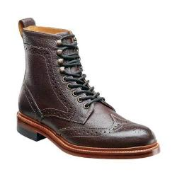 Men's Stacy Adams Madison II 00064 Oxblood Milled Leather