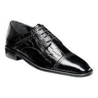 Men's Stacy Adams Raimondo Oxford Black Leather