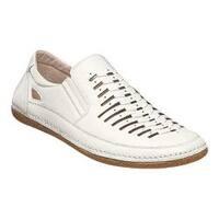 Men's Stacy Adams Naples Slip-on 25023 White Synthetic