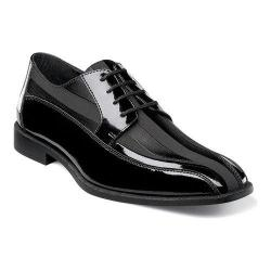 Men's Stacy Adams Royalty 24669 Black Patent Leather/Fabric