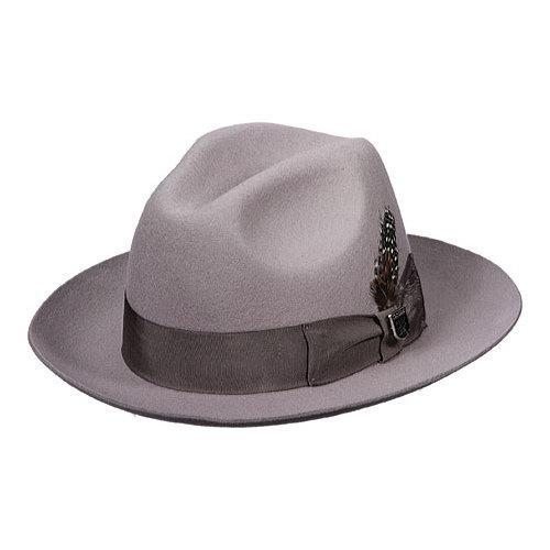 7f048b600d6ef Shop Men s Stacy Adams SAW536 Fedora Light Grey - Free Shipping On Orders  Over  45 - Overstock - 18531403