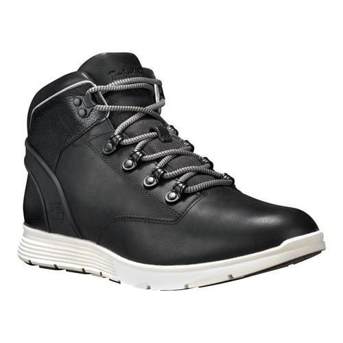 Men's Timberland Killington Leather Hiker Boot Black Full Grain Leather