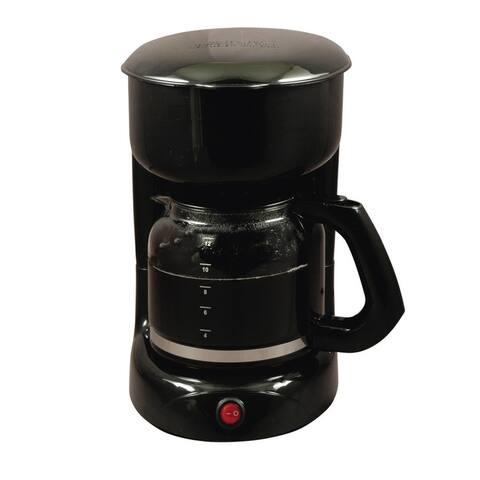 Black 12 Cups Electric Tea Coffee Maker
