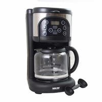 Black Ultra Brew Digital Coffee Maker - Programmable Coffee Maker