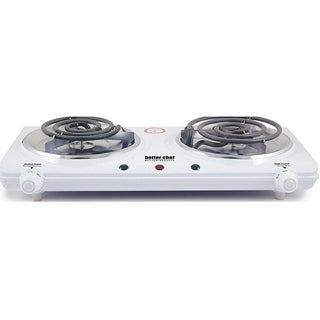 Portable Electric Dual Burner - Electric Double Countertop Hot Plate