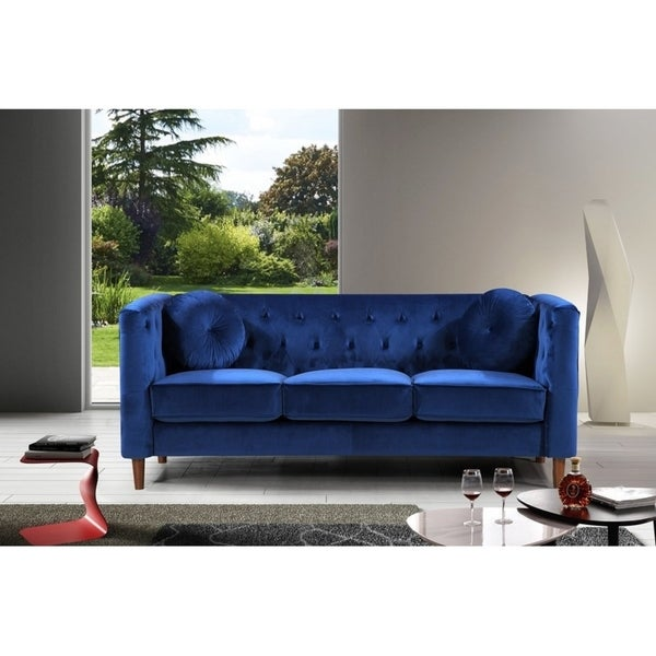 Kitts Clic Upholstered Chesterfield Sofa
