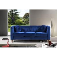 Kitts Classic Upholstered Chesterfield Sofa