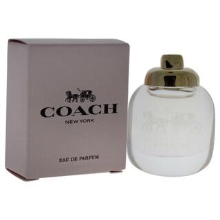 Coach New York Women's 0.15-ounce Eau de Parfum Splash (Mini)