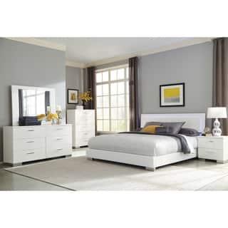165c90252350 Buy King Size White Bedroom Sets Online at Overstock