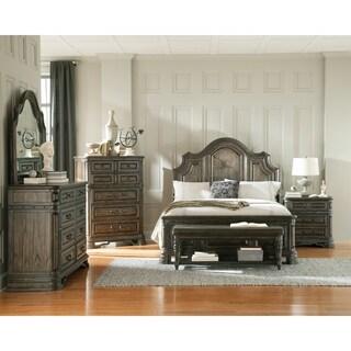 Carlsbad Rustic Vintage Espresso 5-piece Bedroom Set