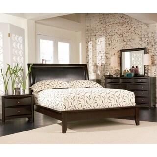 Phoenix Deep Cappuccino 5-piece Bedroom Set