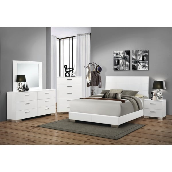 Shop Strick & Bolton Alice White 4-piece Bedroom Set