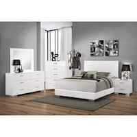 Oliver & James Alice White 4-piece Bedroom Set