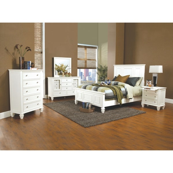 Beach Bedroom Set: Shop Sandy Beach 4-piece Bedroom Set