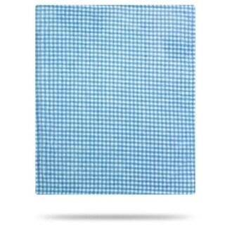 Gingham Light Blue/Light Blue 30x36