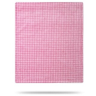Gingham Light Pink/Light Pink 30x36