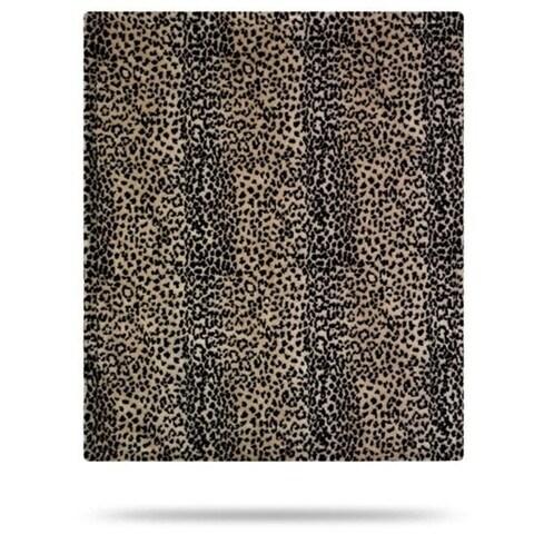 Baby Leopard/Chocolate 30x36