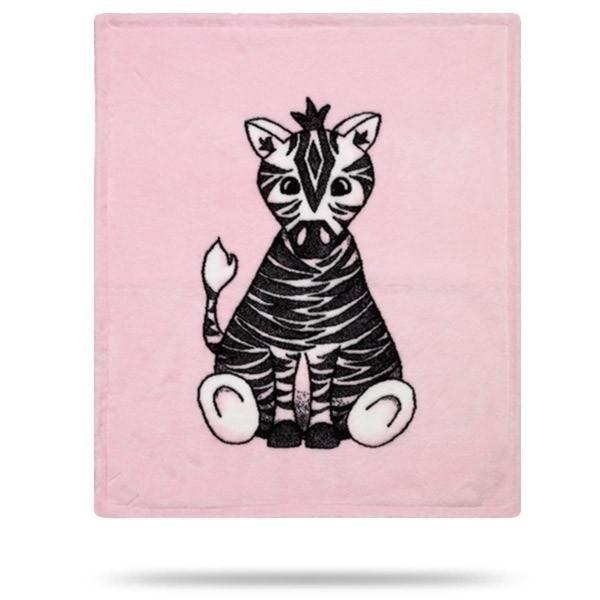 Baby Zebra Pink/Soft Pink 30x36