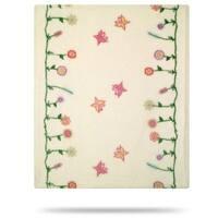Whimsical Floral Cream/Cream 30x36