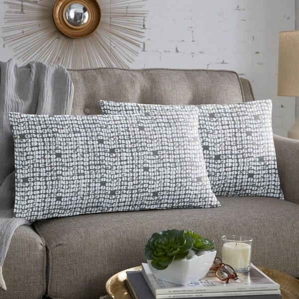 Scott Living Zing Bridge XL Lumbar Pillow , Set of 2