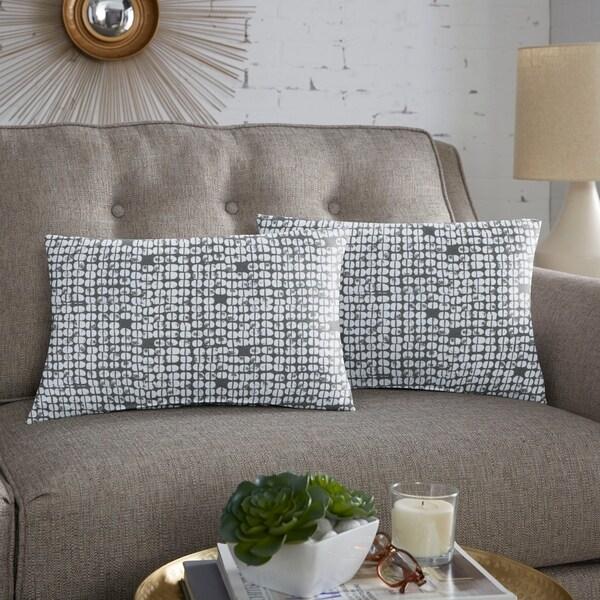 Scott Living Zing Bridge Lumbar Pillow, Set of 2